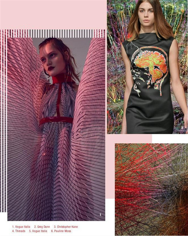 2019 spring and summer women's trend forecast touch (Figure 19)
