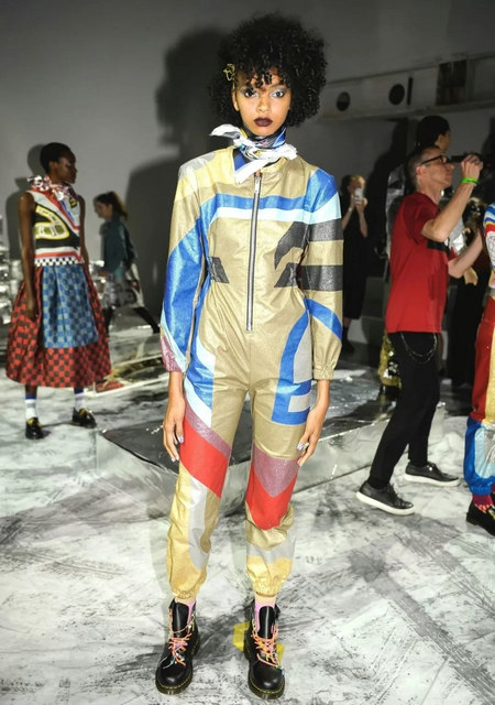 The 2019 spring and summer T-stage that is dominated by printed fabrics has no place to put on the personality!  (Figure 5)