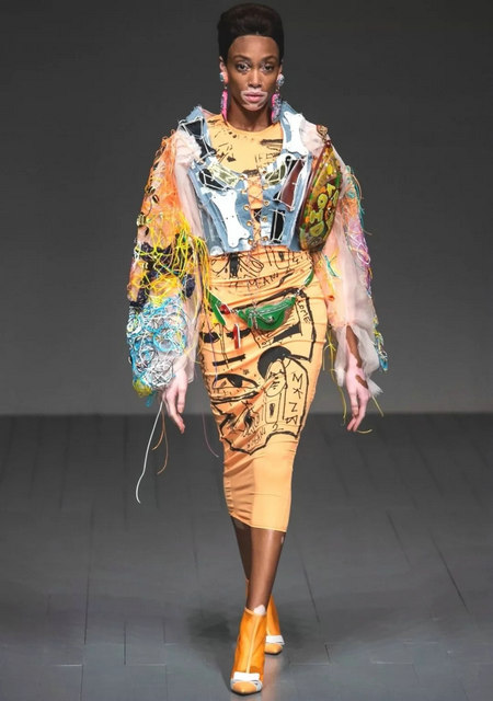 The 2019 spring and summer T-stage that is dominated by printed fabrics has no place to put on the personality!  (Figure 16)