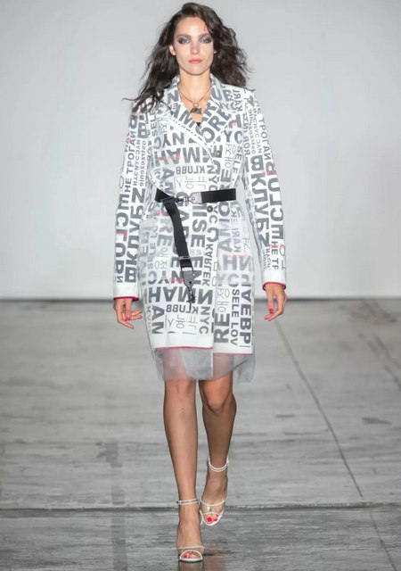 The 2019 spring and summer T-stage that is dominated by printed fabrics has no place to put on the personality!  (Figure 21)
