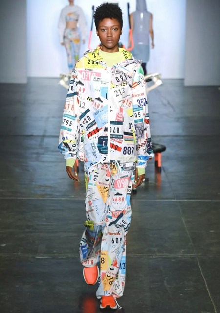 The 2019 spring and summer T-stage that is dominated by printed fabrics has no place to put on the personality!  (Figure 22)