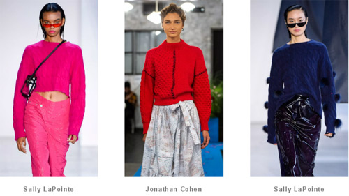 Vibrant · New York Fashion Week ~ The show is full of high-end casual sweaters!  (Figure 13)