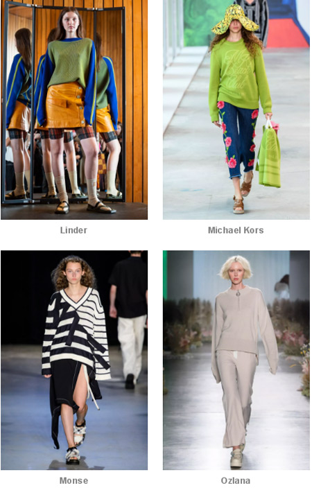 Vibrant · New York Fashion Week ~ The show is full of high-end casual sweaters!  (Figure 8)