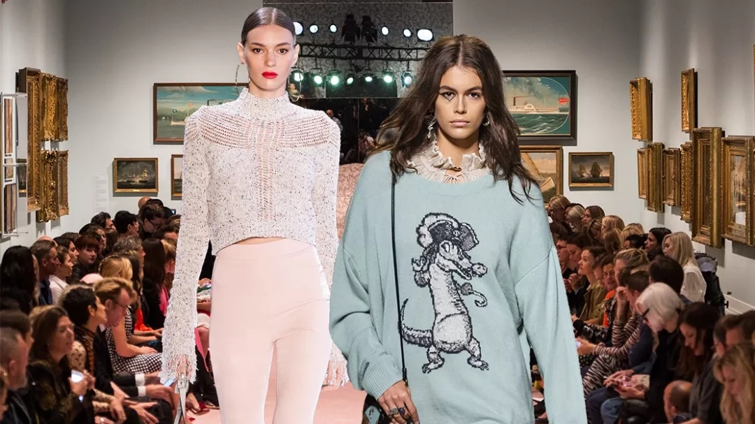 Vibrant · New York Fashion Week ~ The show is full of high-end casual sweaters!  (figure 1)