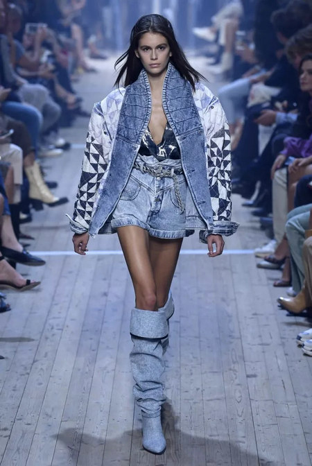 Fashionable early 2019 spring and summer fashion trend report (Figure 15)