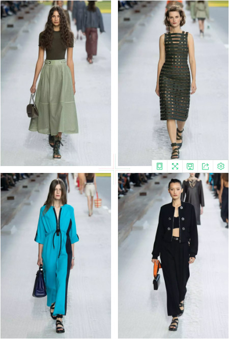 Trends 丨 2019 Spring and Summer Fashion Week wonderful show collection level inventory (Figure 3)