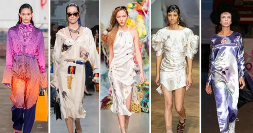 2019 spring and summer trend analysis: fabrics, crafts, single items, patterns (Figure 9)