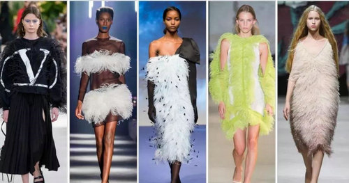 2019 spring and summer trend analysis: fabrics, crafts, single items, patterns (Figure 23)