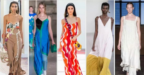 2019 spring and summer trend analysis: fabrics, crafts, single items, patterns (Figure 31)