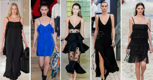 2019 spring and summer trend analysis: fabrics, crafts, single items, patterns (Figure 33)