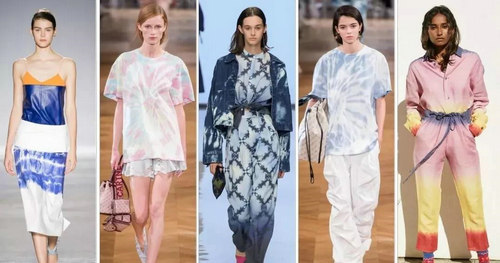 2019 spring and summer trend analysis: fabrics, crafts, single items, patterns (Figure 43)