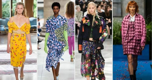 2019 spring and summer trend analysis: fabrics, crafts, single items, patterns (Figure 50)
