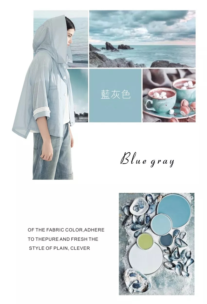 """2019 spring and summer color trend, early spoiler """"explosion"""" color (Figure 2)"""