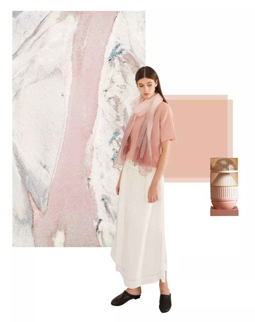 """2019 spring and summer color trend, early spoiler """"explosion"""" color (Figure 12)"""
