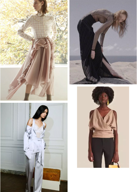 2019 spring and summer women's trend forecast update (Figure 9)